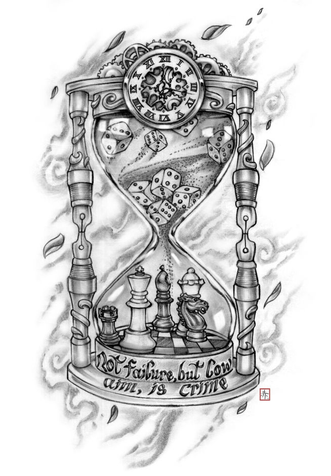 prison tattoo drawings hourglass pictures to pin on pinterest pinsdaddy. Black Bedroom Furniture Sets. Home Design Ideas