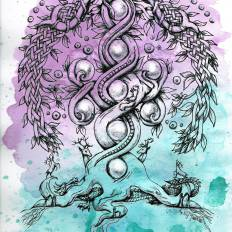 Yggdrasil, the Great Tree in Norse mythology